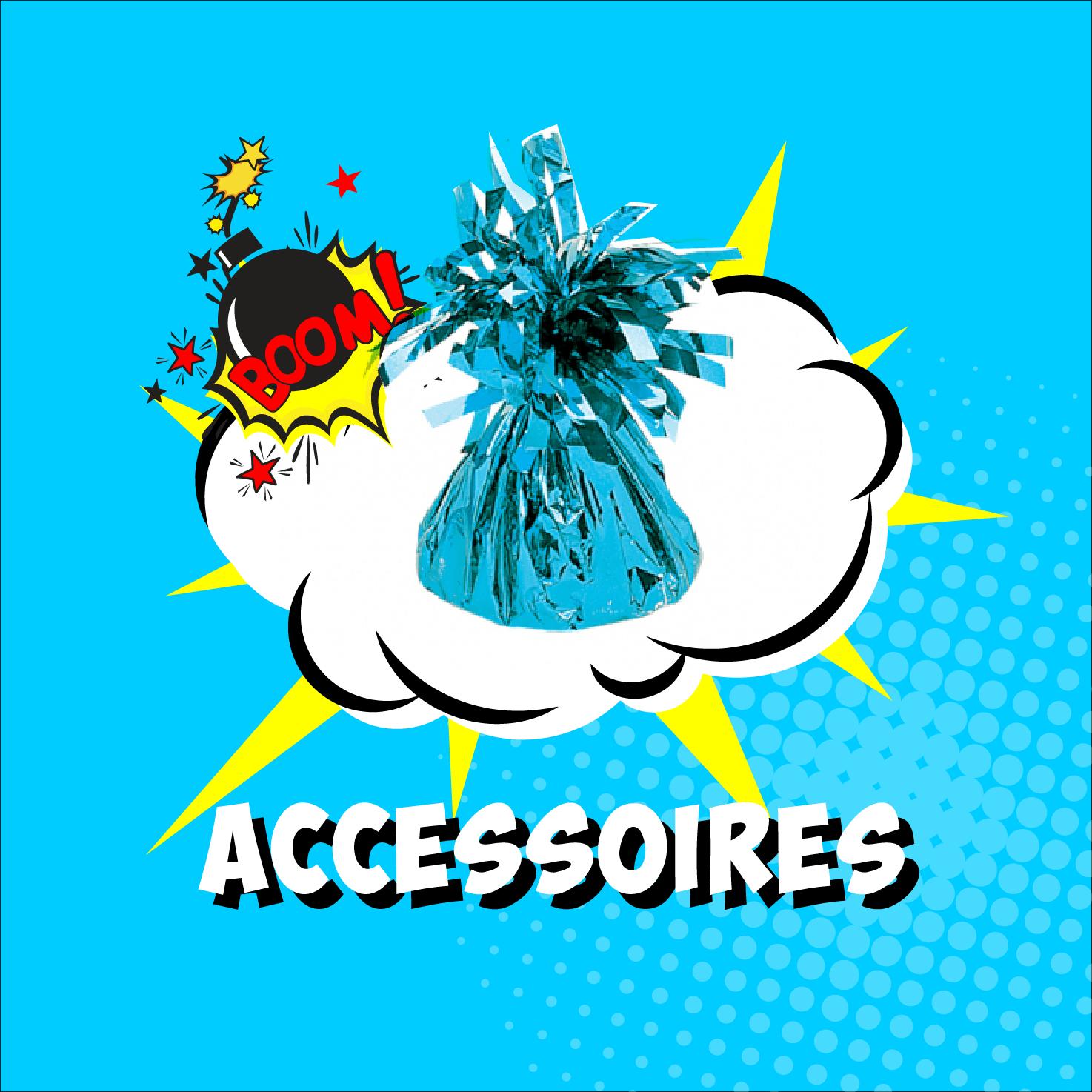 Alle ballon accessoires zoals gewichtjes, slingers, bogen, pompjes en meer vindt je bij feestartikelenwinkel koorn&co uit Rotterdam