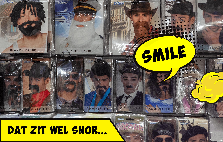 De leukste snorren en baarden vind je bij KOORN & CO uit Rotterdam.